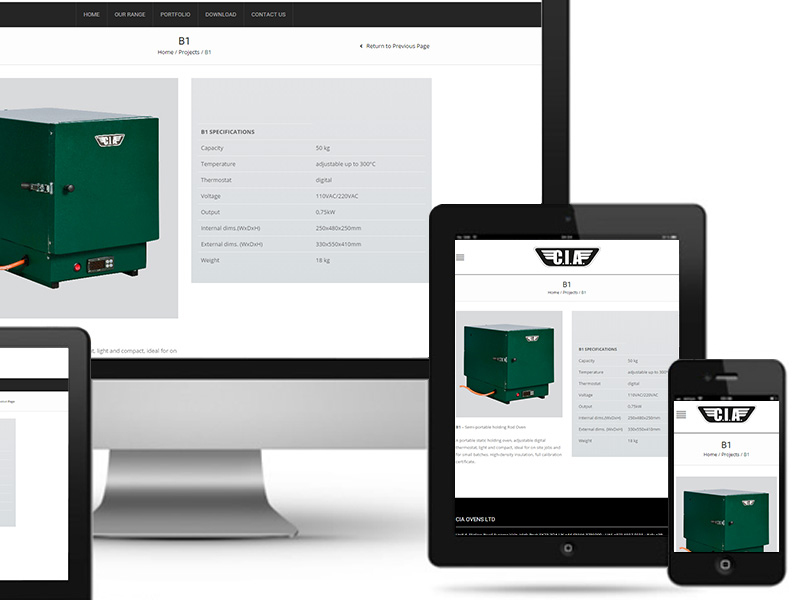 UNLEAD WEB DESIGN | Cia Welding Ovens