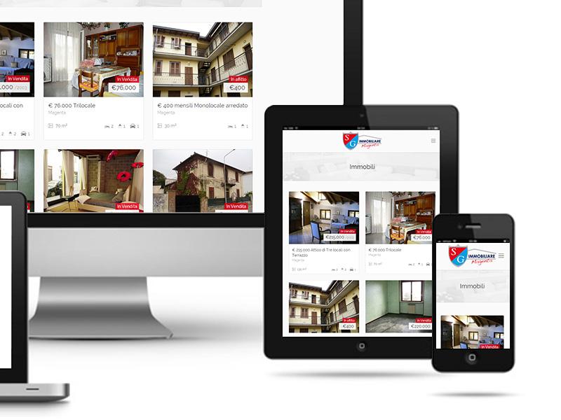UNLEAD WEB DESIGN | SG Immobiliare Magenta