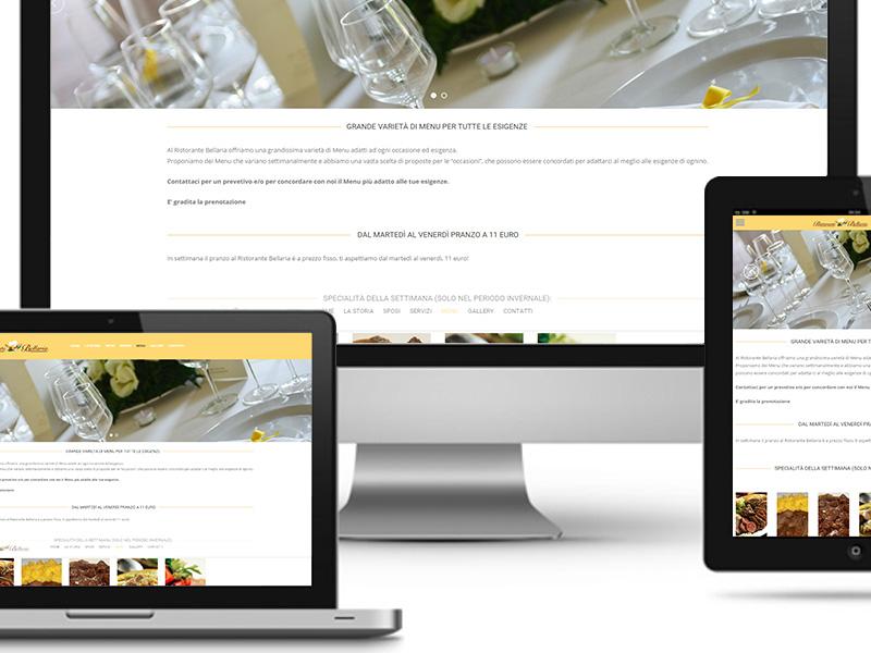 UNLEAD WEB DESIGN | Trattoria Bellaria