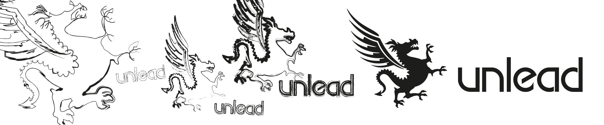 UNLEAD ADVERTISING | Logo Evolution