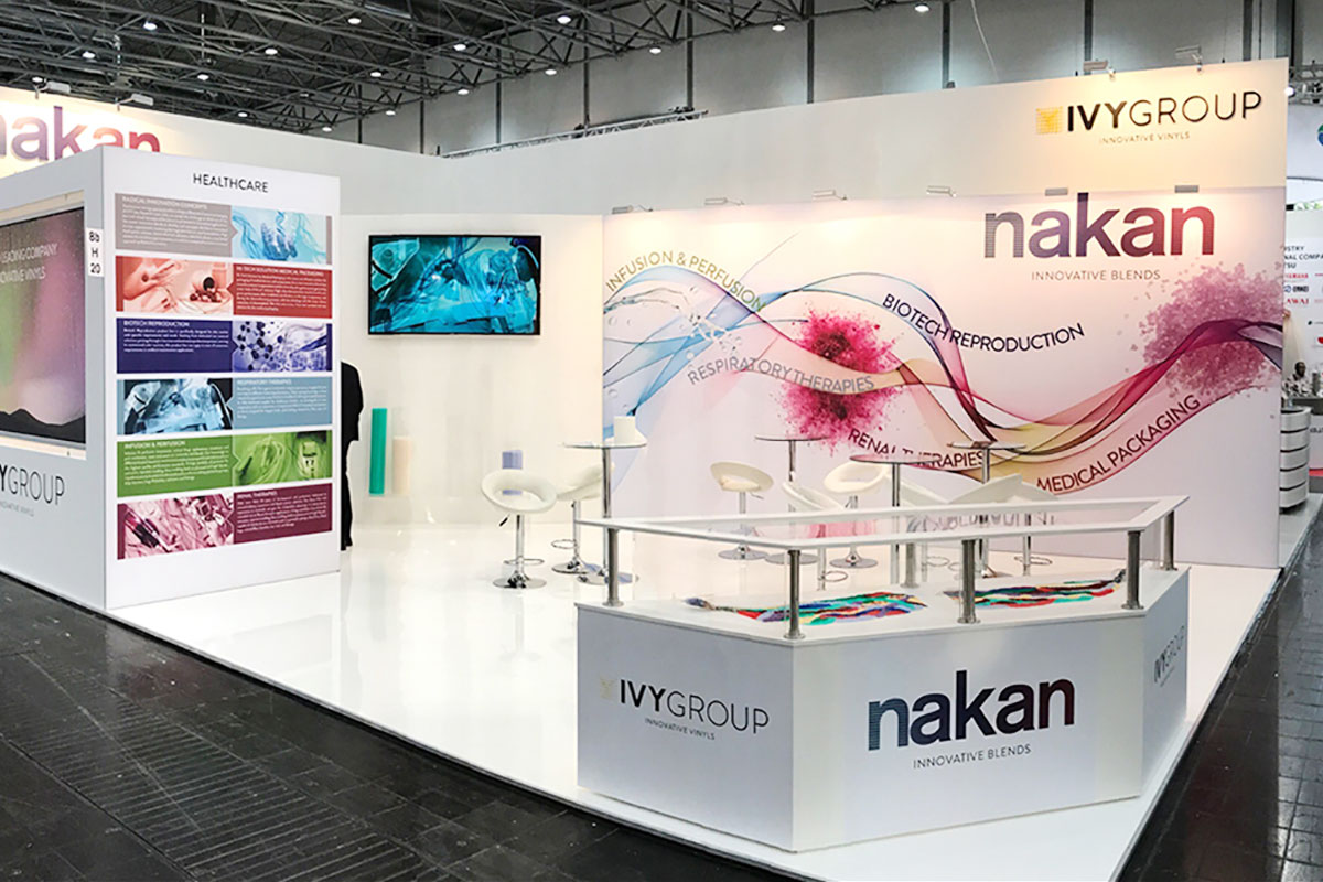 UNLEAD DESIGN AND ADVERTISING | Nakan Stand Compamed