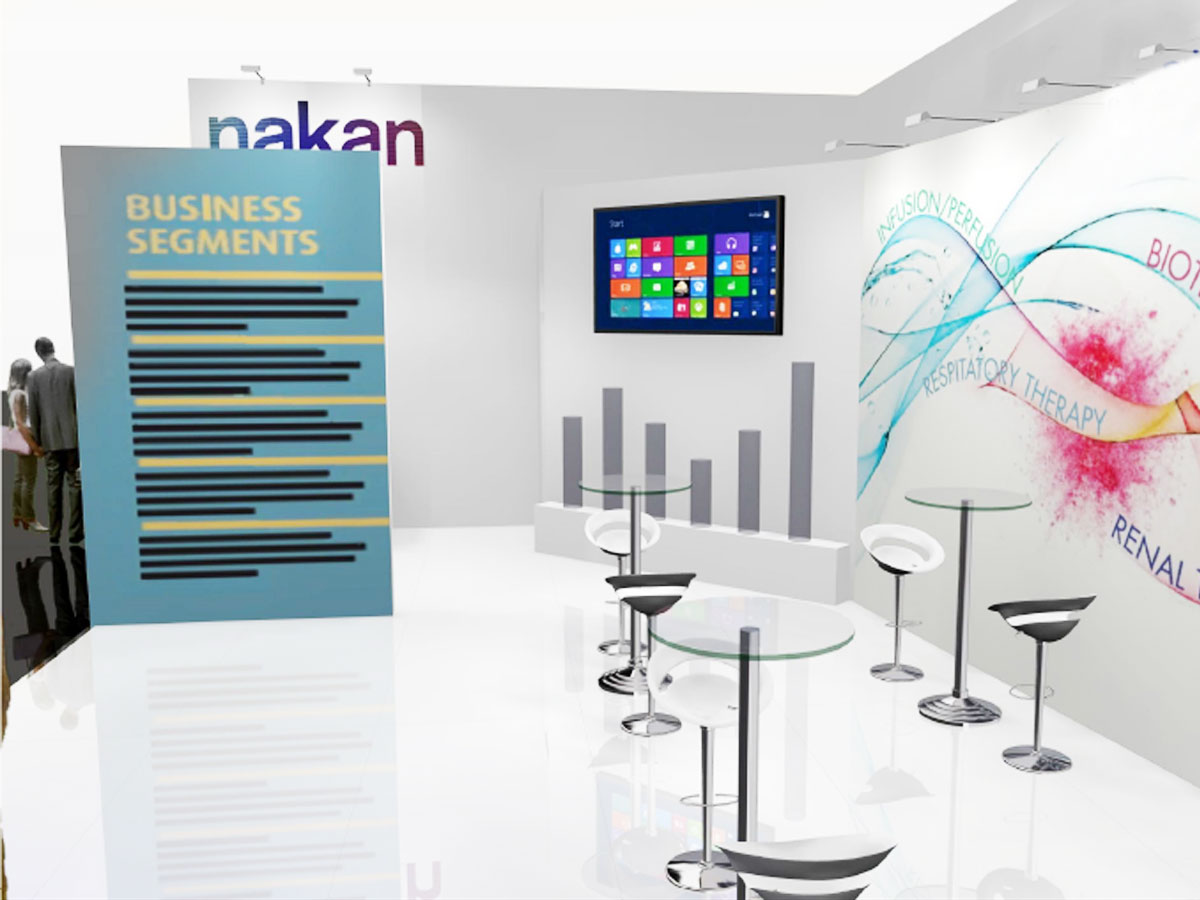 UNLEAD WEB DESIGN | Nakan Stand Compamed