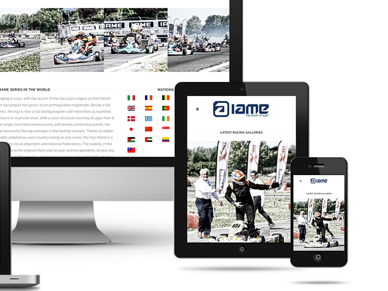 UNLEAD WEB DESIGN | IAME Karting