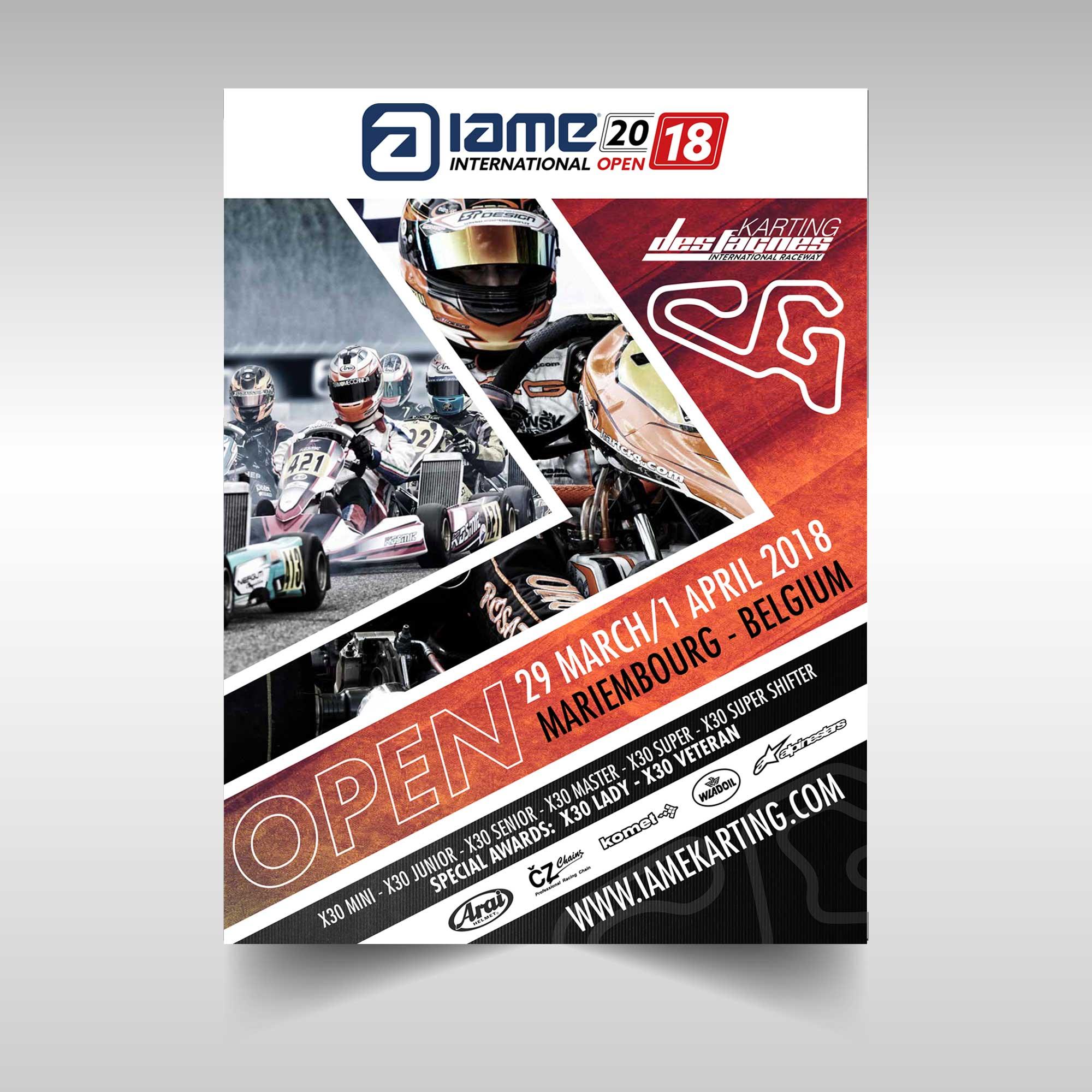 UNLEAD ADVERTISING | IAME Karting